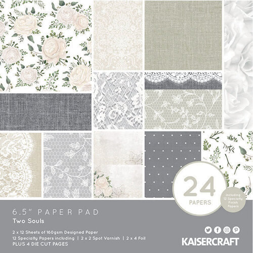 Kaisercraft Two Souls Collection - 6.5x6.5 Paper Pad