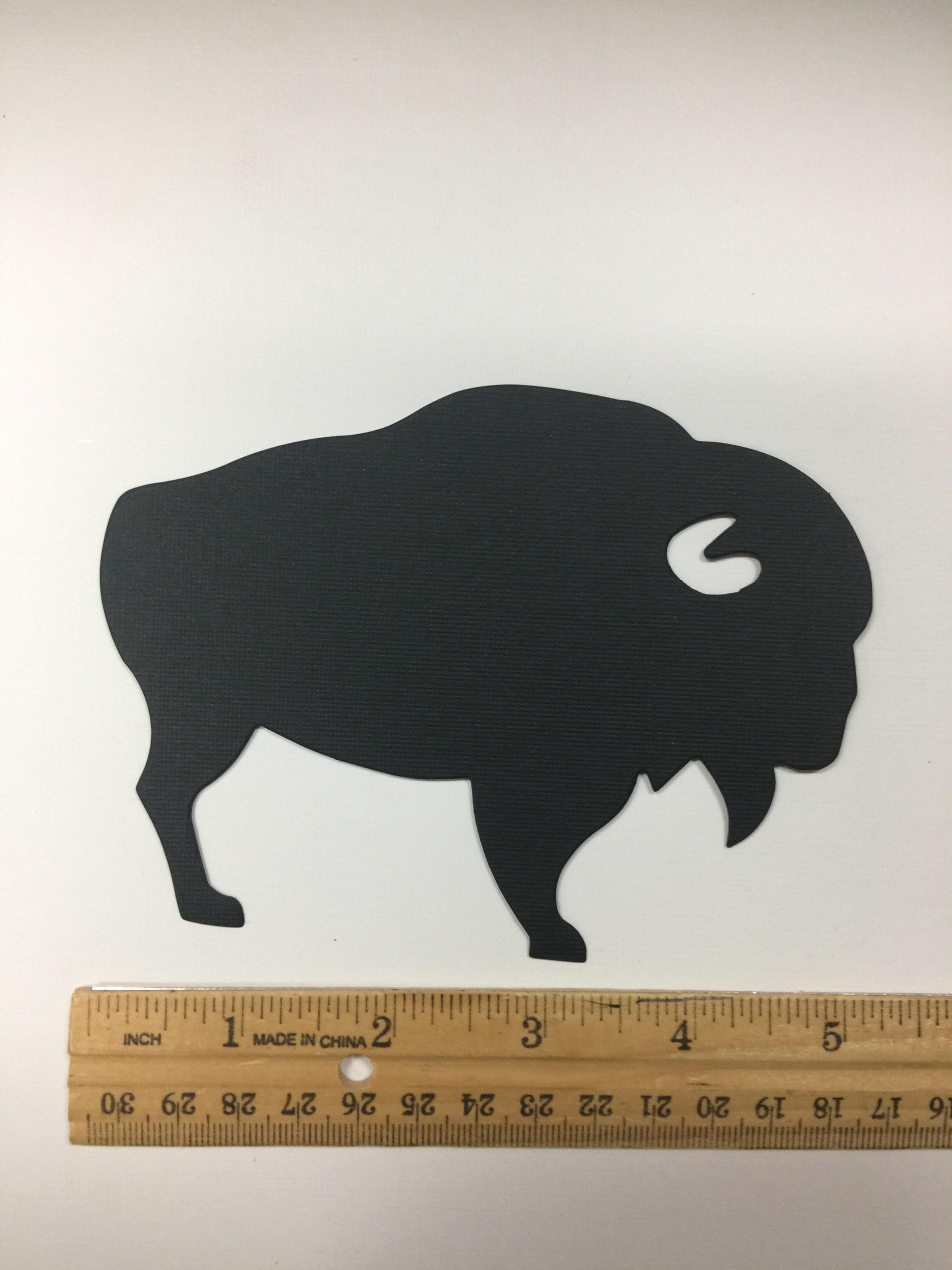 Large Pre-cut Buffalo Die Cuts (5/pack)