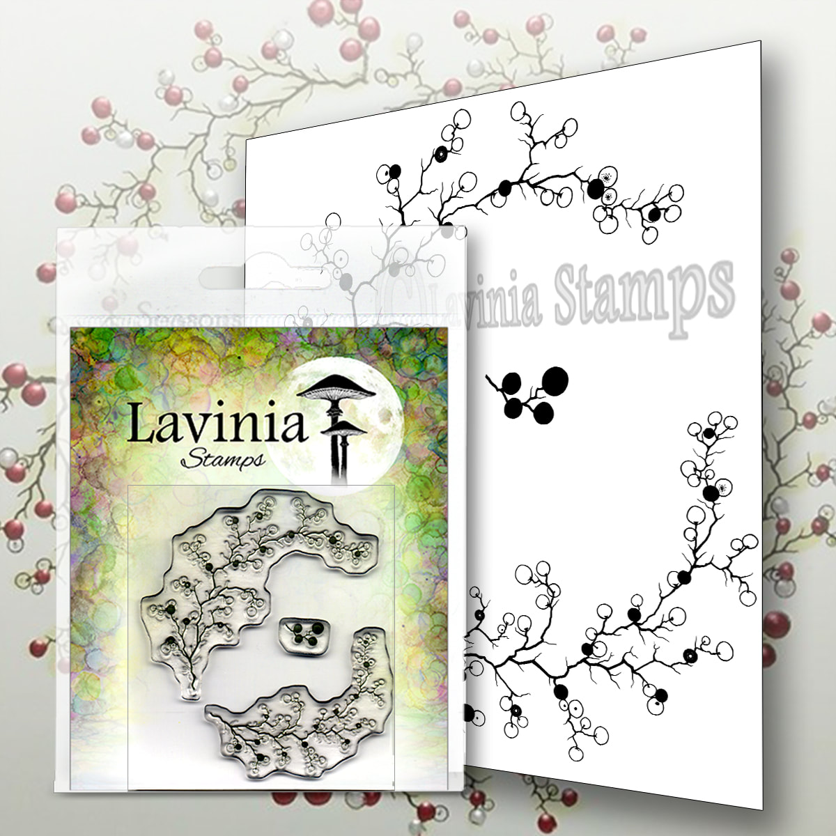 Lavinia Stamps - Berry Wreath