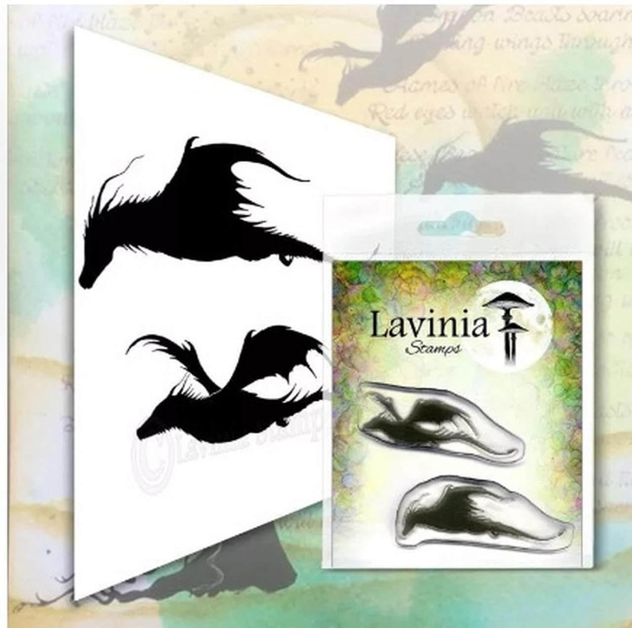 Lavinia Stamps - Dragon Stamp Set