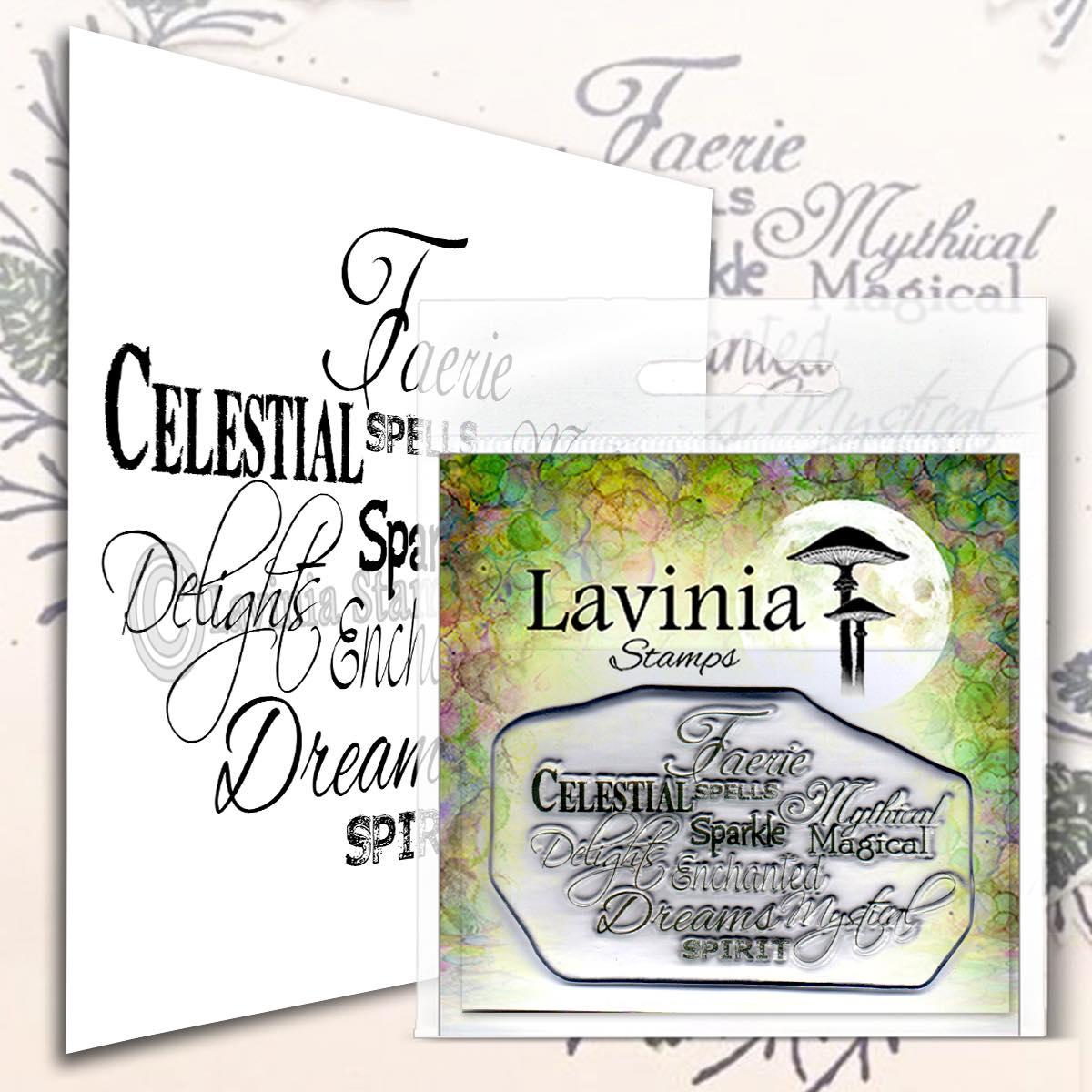 Lavinia Stamps - Faerie Spells Stamp