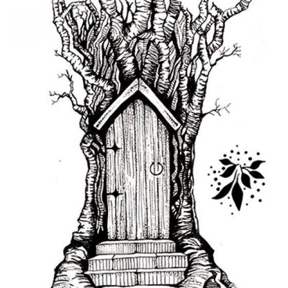 Lavinia Stamps - Fairy Door