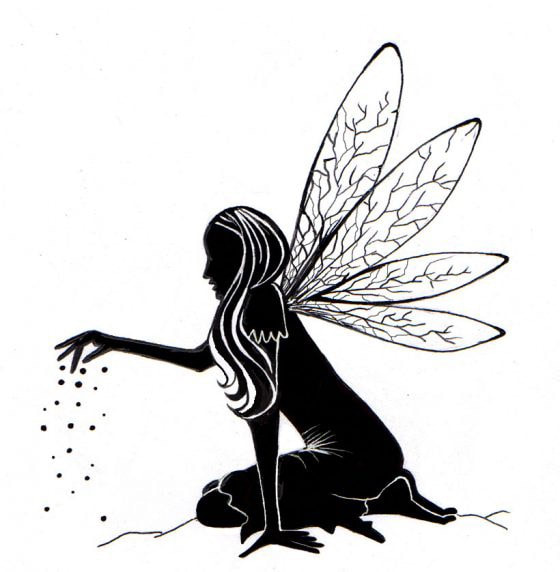 Lavinia Stamps - Fairy Dust Silhouette Stamp