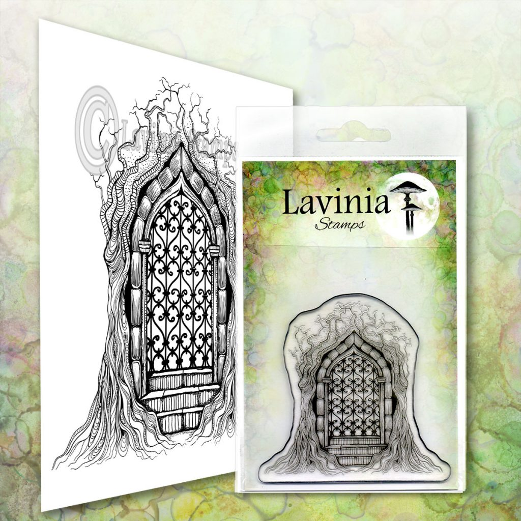 Lavinia Stamps - Forest Temple Stamp