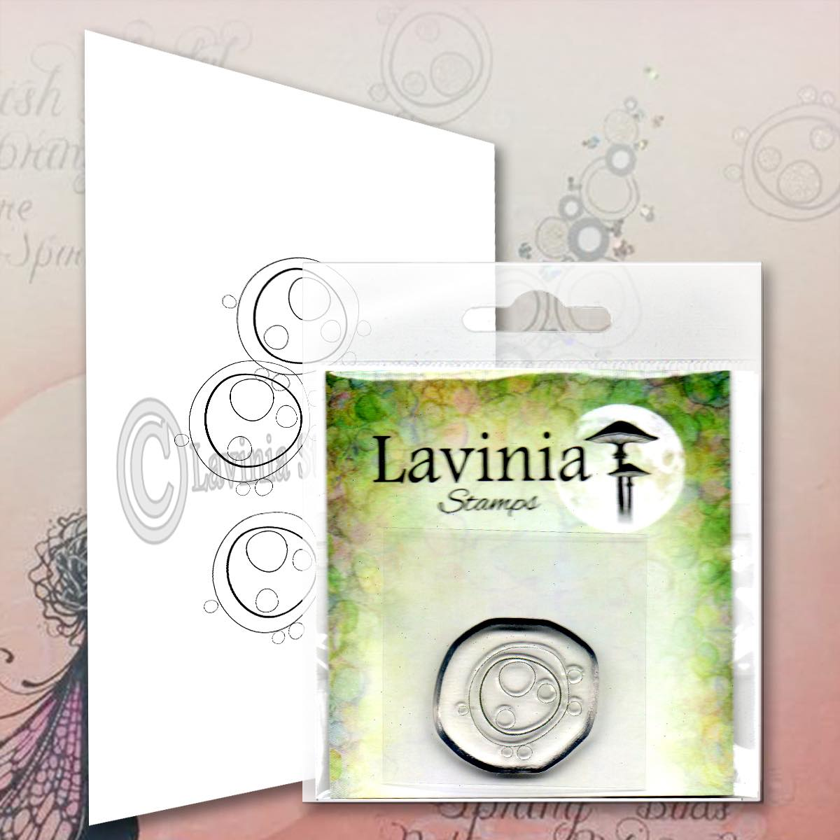 Lavinia Stamps - Mini Orbs Stamp