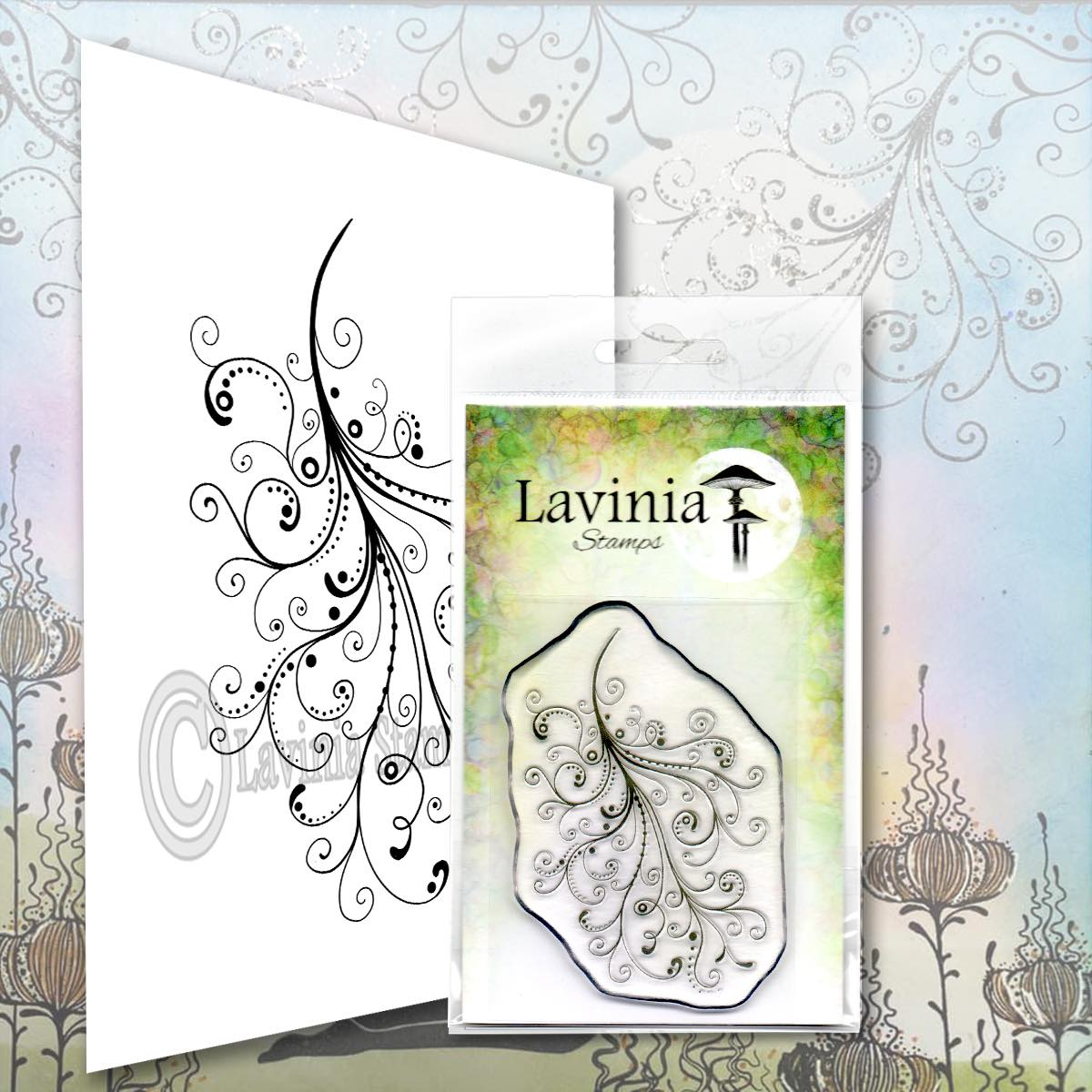 Lavinia Stamps - Mystical Swirl Stamp