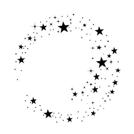 Lavinia Stamps - Star Cluster Stamp