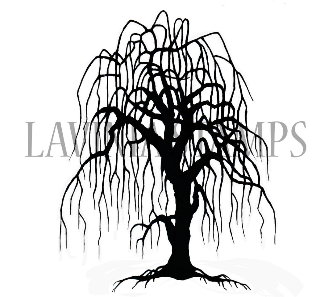 Lavinia Stamps - Weeping Willow
