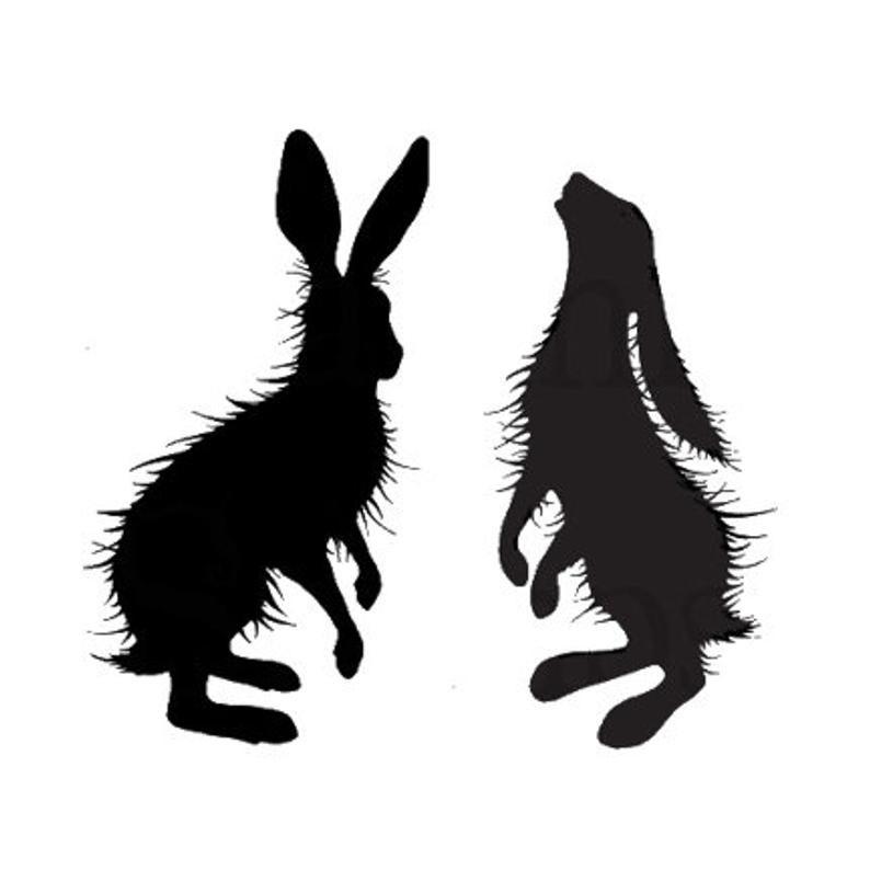 Lavinia Stamps - Woodland Hares Stamp Set