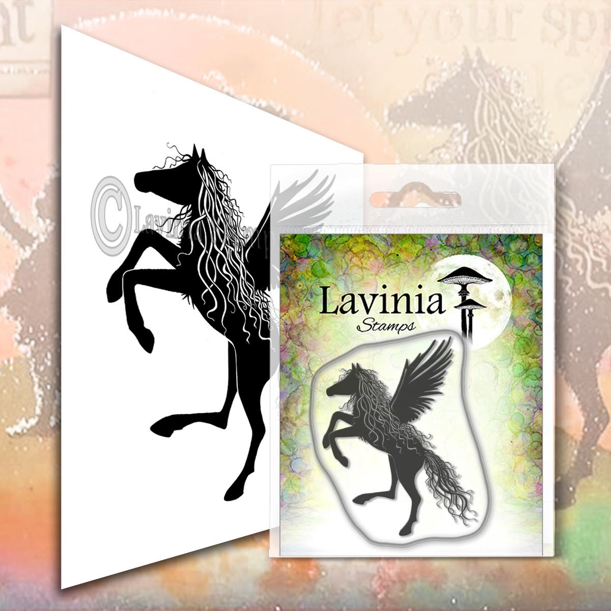 Lavinia Stamps - Zanor Stamp