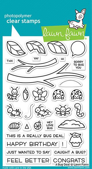Lawn Fawn - A Bug Deal Stamp Set