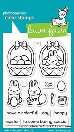 Lawn Fawn - Before 'n Afters Easter Stamp Set