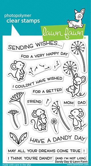 Lawn Fawn - Dandy Day Stamp Set