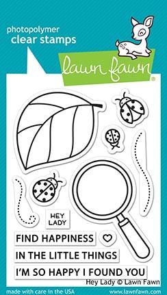 Lawn Fawn - Hey Lady Stamp Set