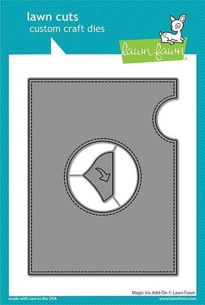 Lawn Fawn - Magic Iris Add-On Die