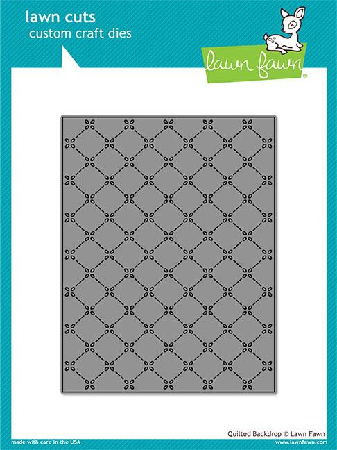 Lawn Fawn - Quilted Backdrop Die