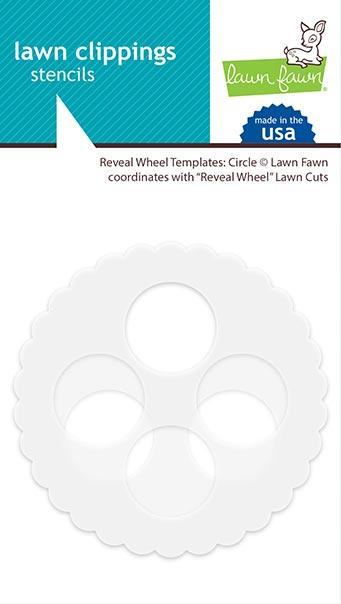 Lawn Fawn - Reveal Wheel Templates: Circle