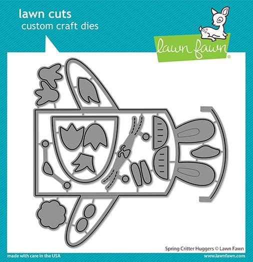Lawn Fawn - Spring Critters Huggers Die