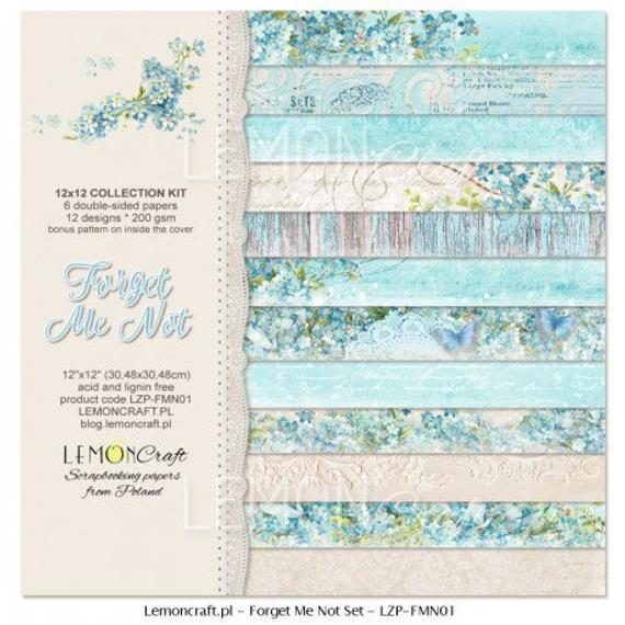 Lemoncraft - Forget me Not 6x6 Paper Pack