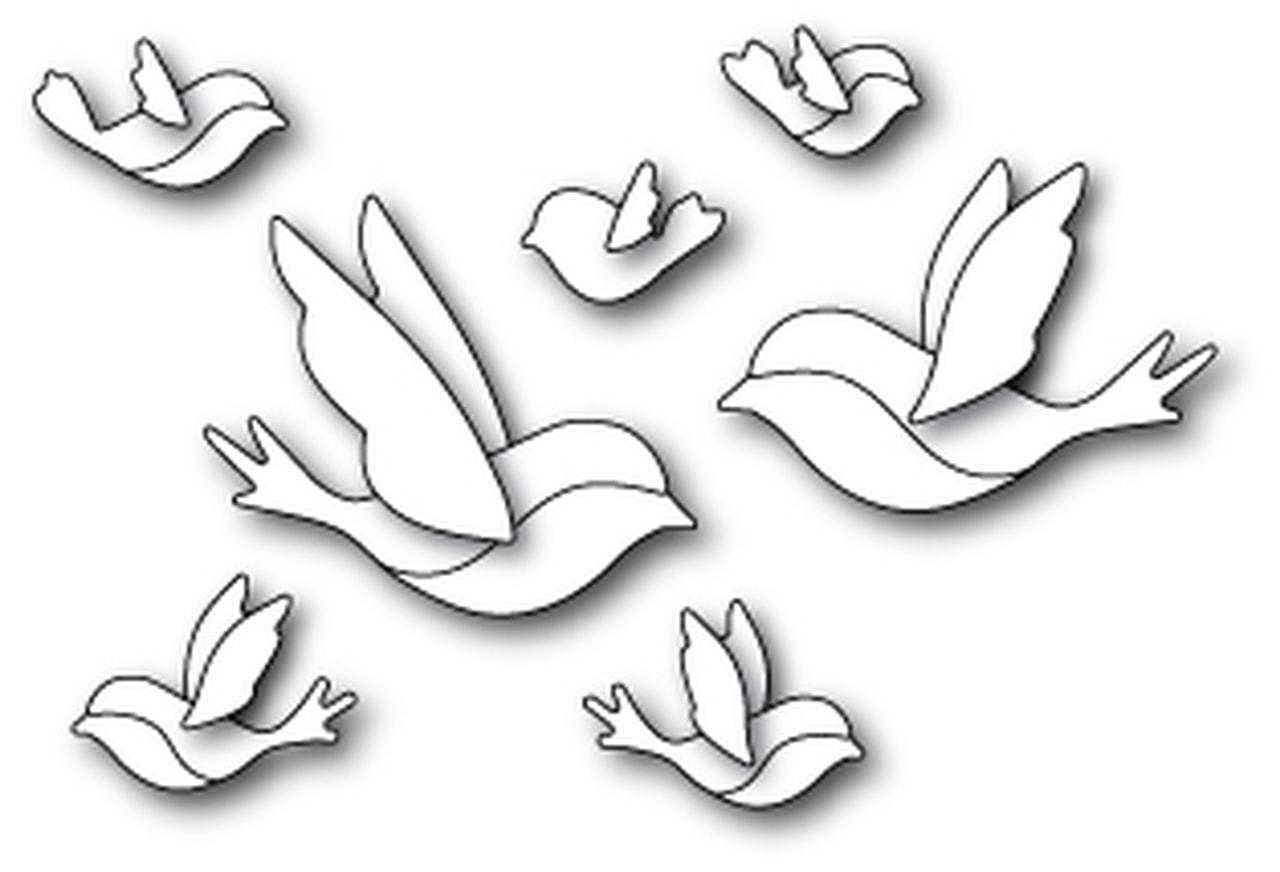 Memory Box - Contempo Birds