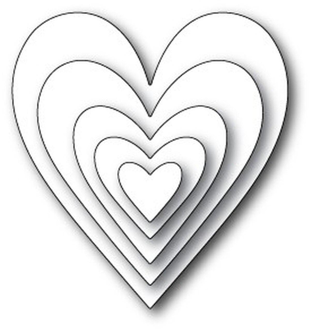 Memory Box - Glorious Hearts Die