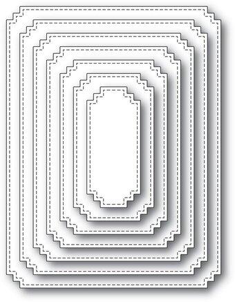 Memory Box - Matinee Rectangle Layers Die