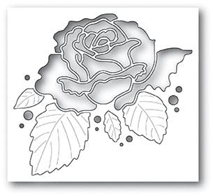 Memory Box - Rose Bloom Collage Die
