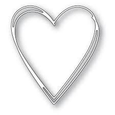 Memory Box - Tall Sketch Heart Die