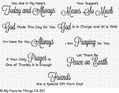 MFT - Beautiful Blessings Stamp Set