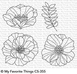 MFT - Brilliant Blooms Stamp/Die Set
