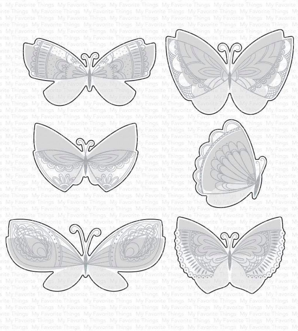 MFT - Brilliant Butterflies Die