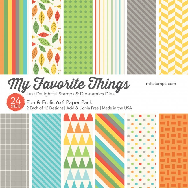 MFT - Fun & Frolic Paper Pack 6x6