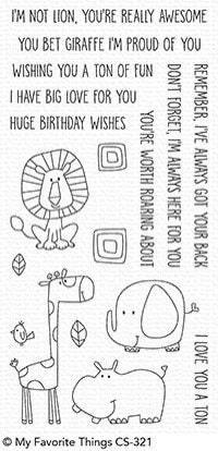 MFT - Safari Friends Stamp Set