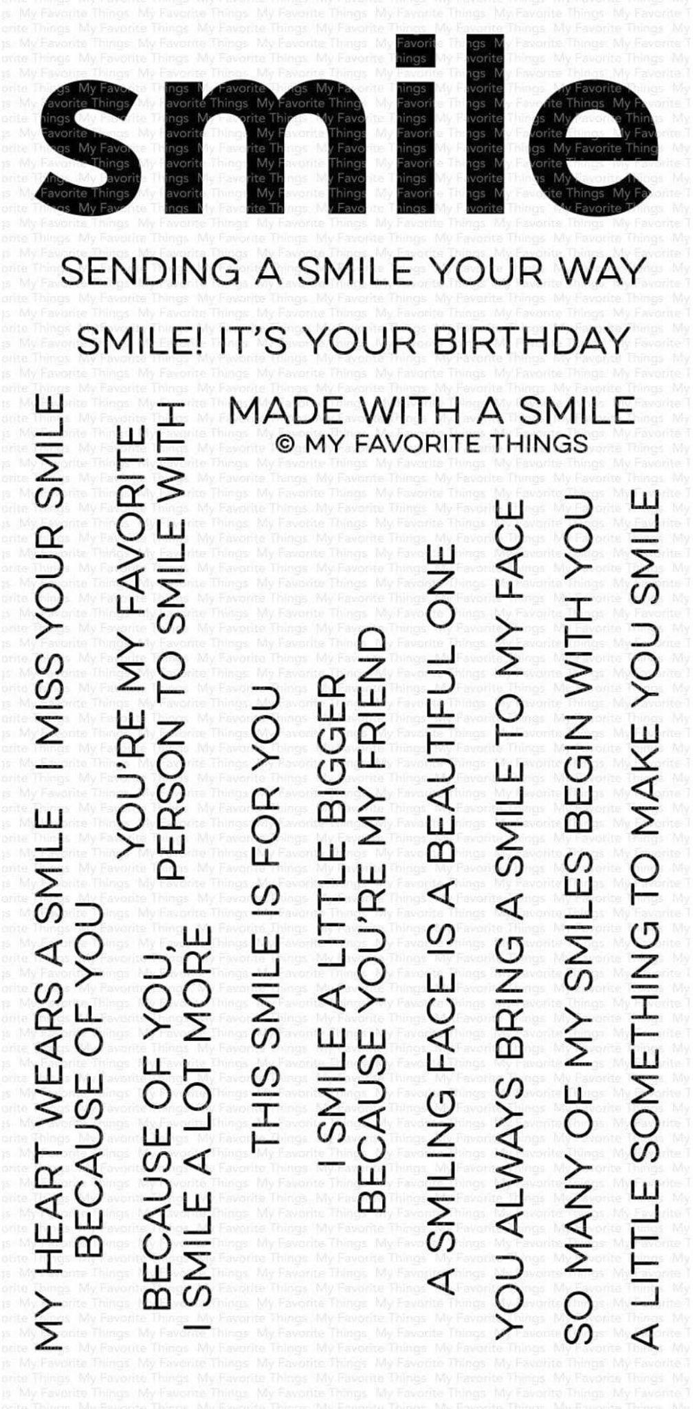 MFT - Smile Maker Stamp Set