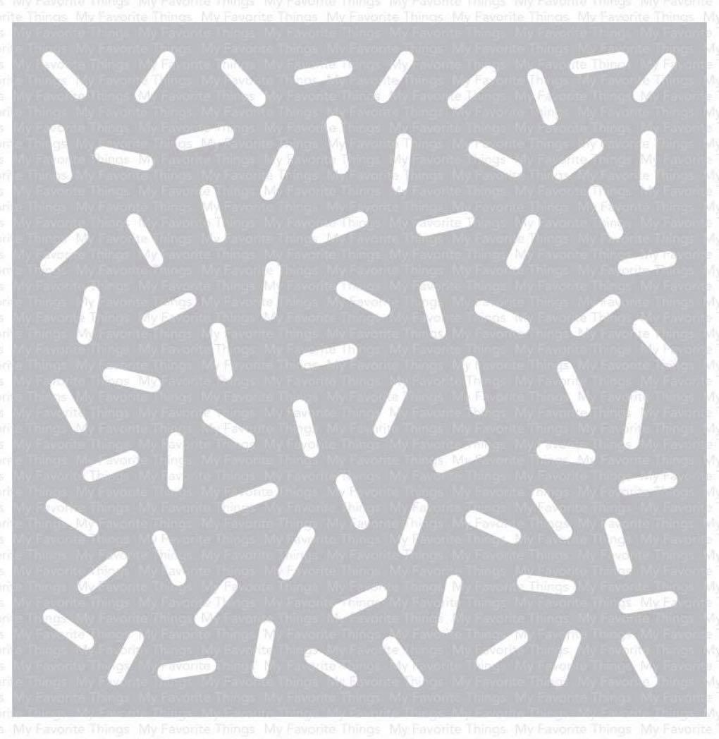 MFT - Sprinkles Stencil