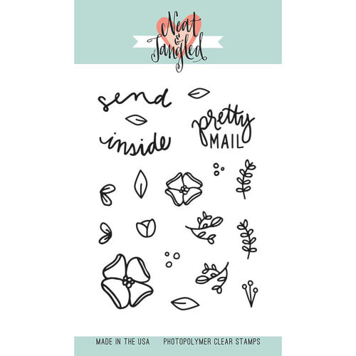 Neat & Tangled - Send Pretty Mail Stamp Set