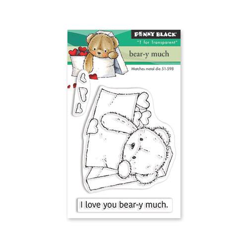 Penny Black - Bear-y Much Stamp Set