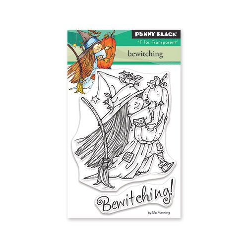 Penny Black - Bewitching Stamp Set