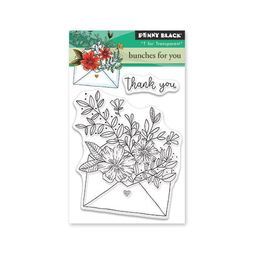 Penny Black - Bunches for You Stamp Set