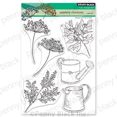 Penny Black - Country Charisma Stamp Set