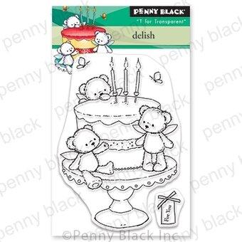 Penny Black - Delish Mini Stamp Set