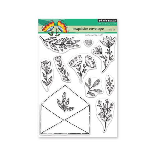 Penny Black - Exquisite Envelope Stamp Set