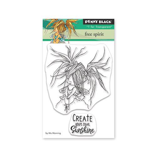Penny Black - Free Spirit Mini Stamp Set