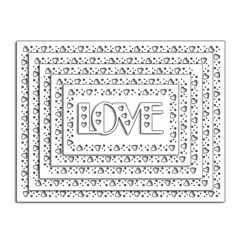 Penny Black - Lovely Border Die Set