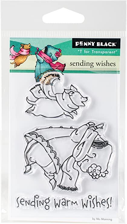 Penny Black - Sending Wishes Stamp Set