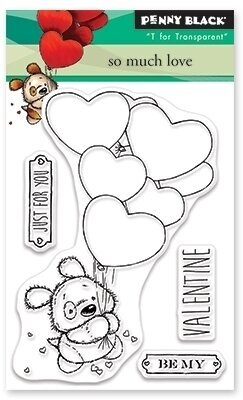 Penny Black - So Much Love Stamp Set