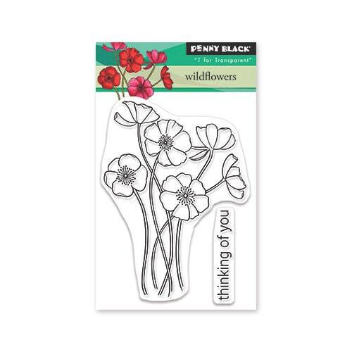 Penny Black - Wildflowers Stamp Set