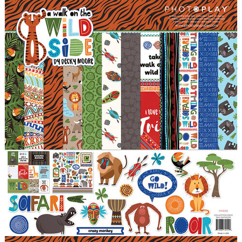 Photo Play - A Walk on the Wild Side Collection Pack