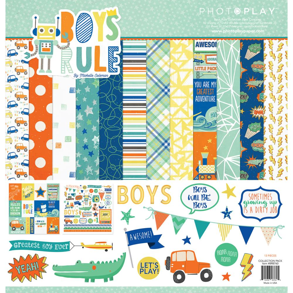 Photo Play - Boys Rule Collection Pack