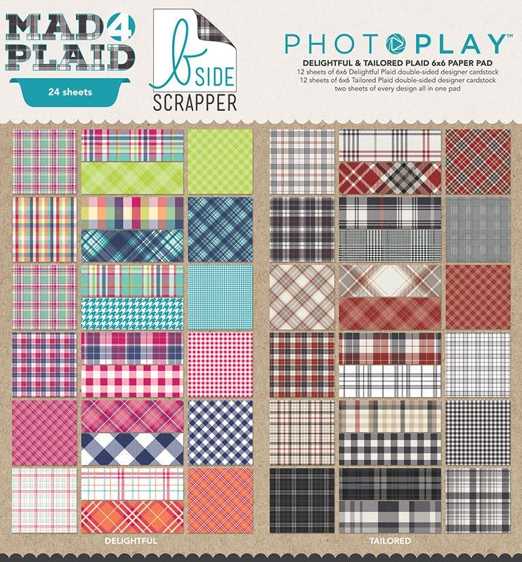 Photo Play - Mad4Plaid Delightful Collection Pack